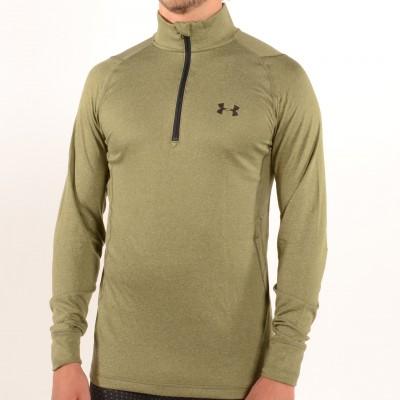 Men's Charged Wool Trek 1/4 Zip Greenhead