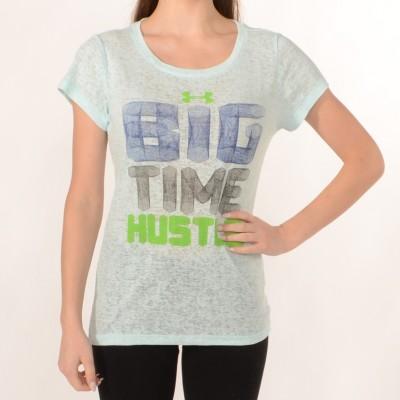 Women's T-shirt Big Time Hustle in Light Blue