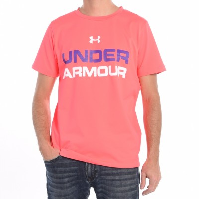 Men's workout T-shirt in Hot Pink