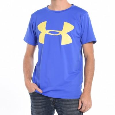 Men's workout T-shirt in Blue