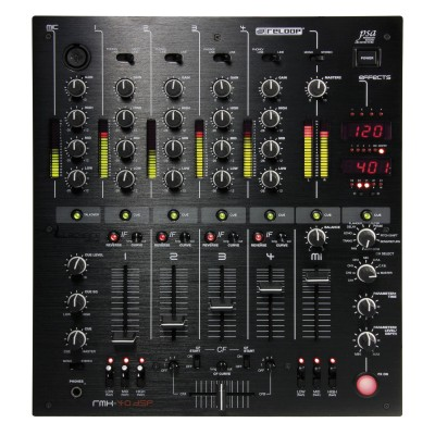 Reloop RMX-40 DSP 4 Channel Pro Club Mixer - Reloop - RMX-40-DSP