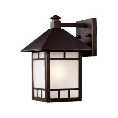 Artisan 1-Light Wall-Mounted 10.75-inch Lantern