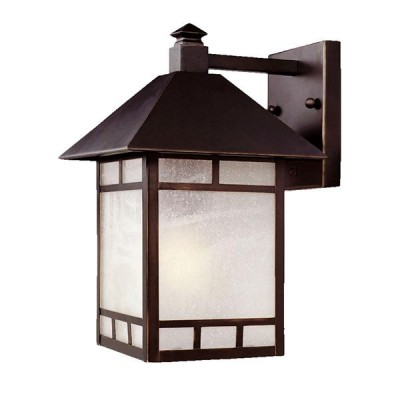 Artisan 1-Light Wall-Mounted 14.5-inch Lantern