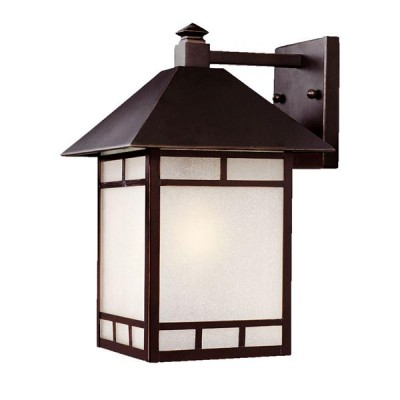 Artisan 1-Light Wall-Mounted 15.5-inch Lantern