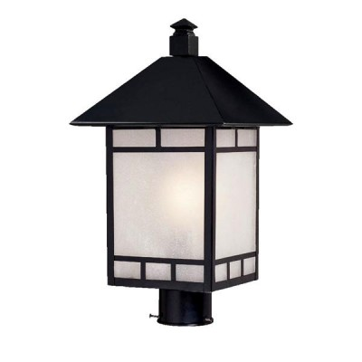 Artisan 1-Light Post-Mounted Lantern Head