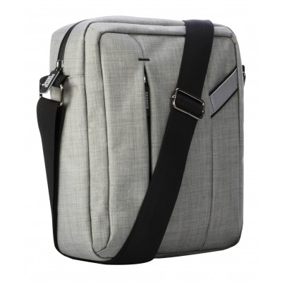 Sharper Image Stealth Crossbody Power Up in Grey