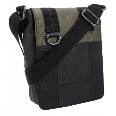 Buffalo David Bitton Breaker Crossbody Bag in Khaki