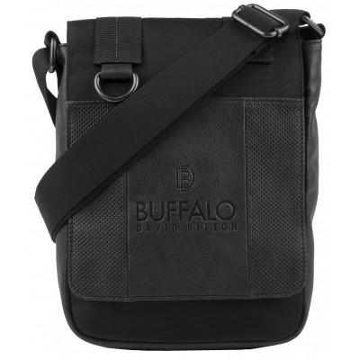 Buffalo David Bitton Breaker Crossbody Bag in Black