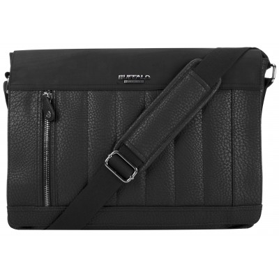 Buffalo David Bitton Stockholm Messenger Bag in Black