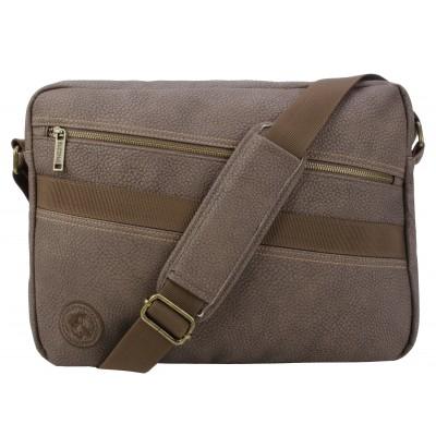 Buffalo David Bitton Hemmingway Messenger Bag in Brown