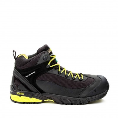 Kodiak Men's K4-Trail Shoe in Black and Lime