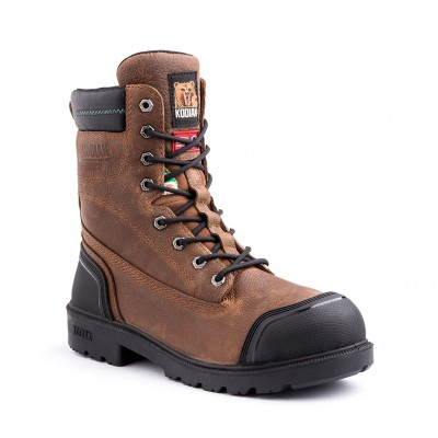 Kodiak Men's Blue Plus Waterproof Boot in Brown