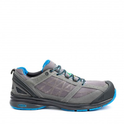 Kodiak Men's K4-120 Safety Shoe in Grey and Blue