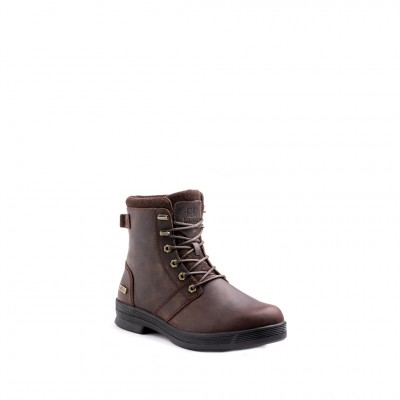 Kodiak Men's Rhode 6 Eyelet Leather City WP Boot in Brown