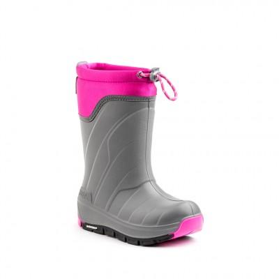 Kodiak Girls' Klondike Micheli Boot in Grey Pink