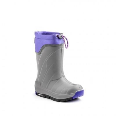 Kodiak Girls' Klondike Micheli Boot in Grey Purple