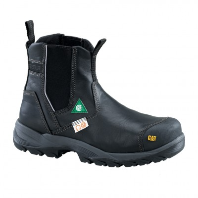 Cat Men's Propane CSA Work Boot in Black