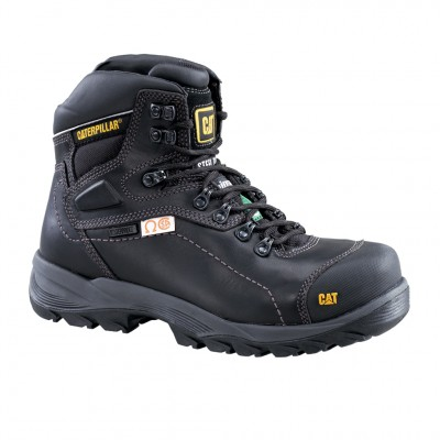 Cat Men's Diagnostic Hi CSA Work Boot in Black