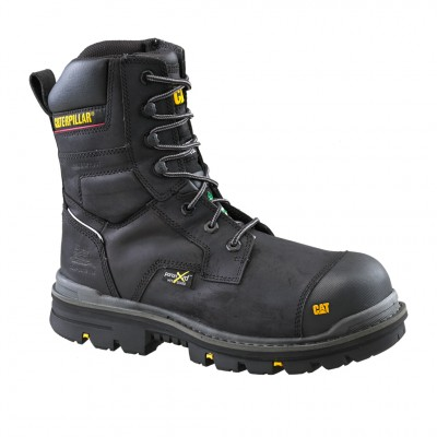 "Cat Men's Rasp 8"" Work Boot in Black"