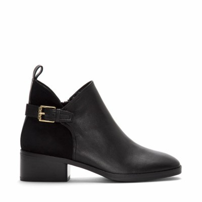 Cole Haan Women Women's Althea Bootie Black/Leather/Suede M