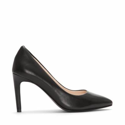 Cole Haan Women Women's Amelia Grand Pump 85Mm Black Leather-W03693 M