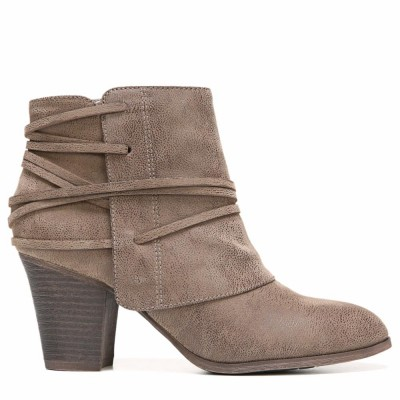 Fergalicious Women's Canyon Taupe/Suede/Fabric M