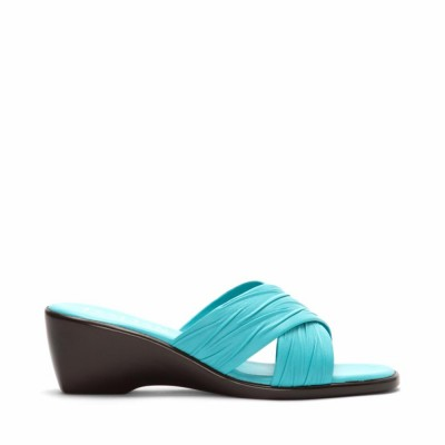Italian Shoemakers Women's D168 Turquoise M
