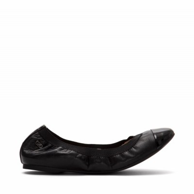Cole Haan Women Women's Deltona Ballet Black/Black/Lea-D42399 M