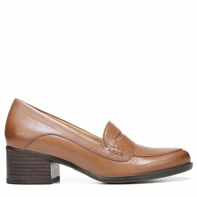 Naturalizer Women's Dinah Saddle Tan/Leather M