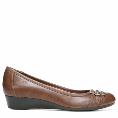 Lifestride Women's Farrow Dark Tan Amsler M