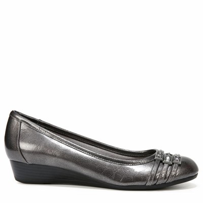 Lifestride Women's Farrow Pewter Mini Crinkle M