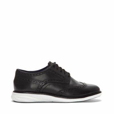 Cole Haan Women Women's Grand Evolution Shortwing W07620/Black/Lea/Optic White M