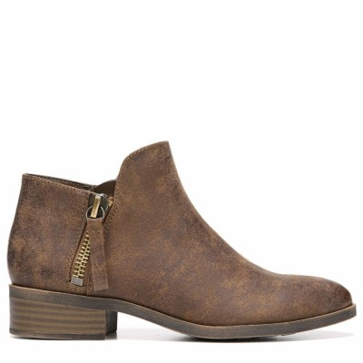 Fergalicious Women's Nash Cognac/Oiled Fabric M