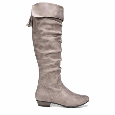 Fergalicious Women's Rookie Lt Taupe/Oiled/Fabric M