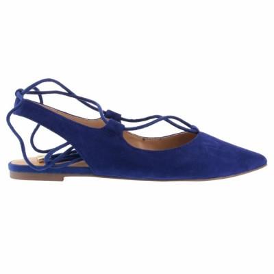 Franco Sarto Women's Snap Blue M