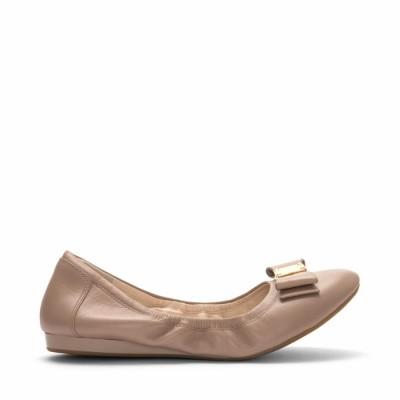 Cole Haan Women Women's Tali Bow Ballet Maple Sugar-D43263 M