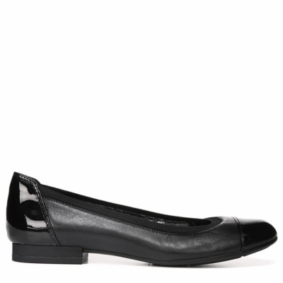 Naturalizer Women's Therese Black/Leather/Shiny W