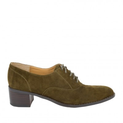 Cecelia New York Women's Andy Dress Shoe in Olive