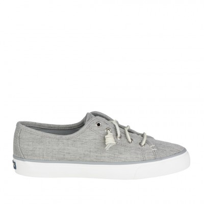 Sperry Women's Seacoast Sneaker in Grey