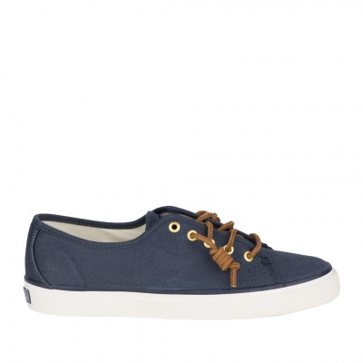 Sperry Women's Seacoast Sneaker in Navy
