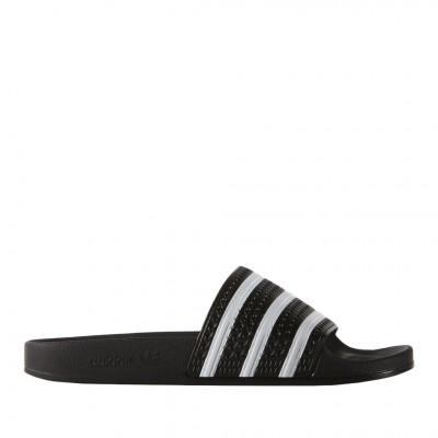 Adidas Men's Adilette Slides in Black
