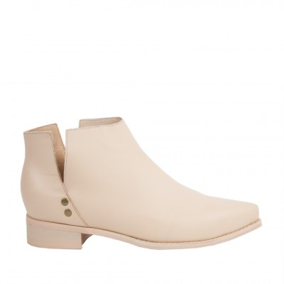 Shoe The Bear Women's OKI-L in Booties Nude