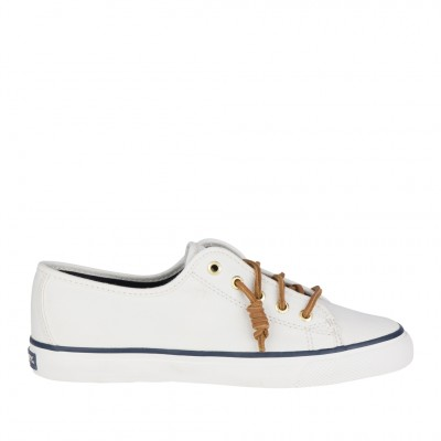 Sperry Women's Seacoast Sneaker in Ivory