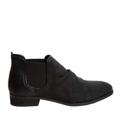 Shoe The Bear Men's Who Chelsea Boot in Black