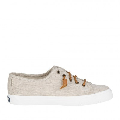 Sperry Women's Seacoast Sneaker in Natural