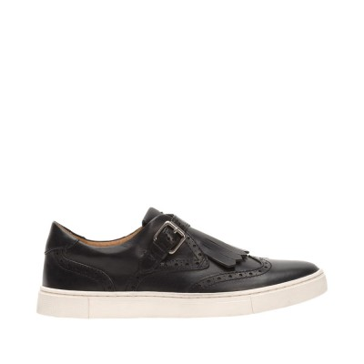 Frye Women's Gemma Kiltie Sneakers in Black