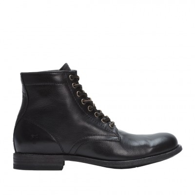 Frye Men's Tyler Lace up boot in Black