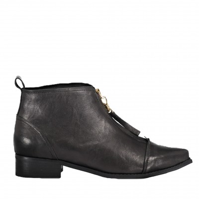Shoe The Bear Women's Anna Ankle Boot in Black