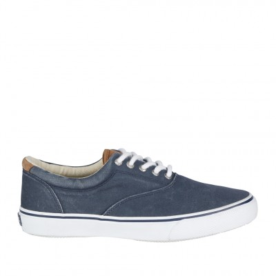 Sperry Men's Striper LL CVO in Navy