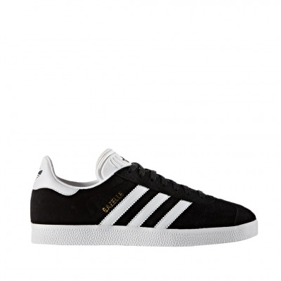 Adidas Men's Gazelle Trainer in Black and White